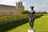 The Tuillier Gardens - Paris France