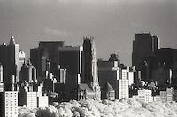 Manhattan skyline<br />