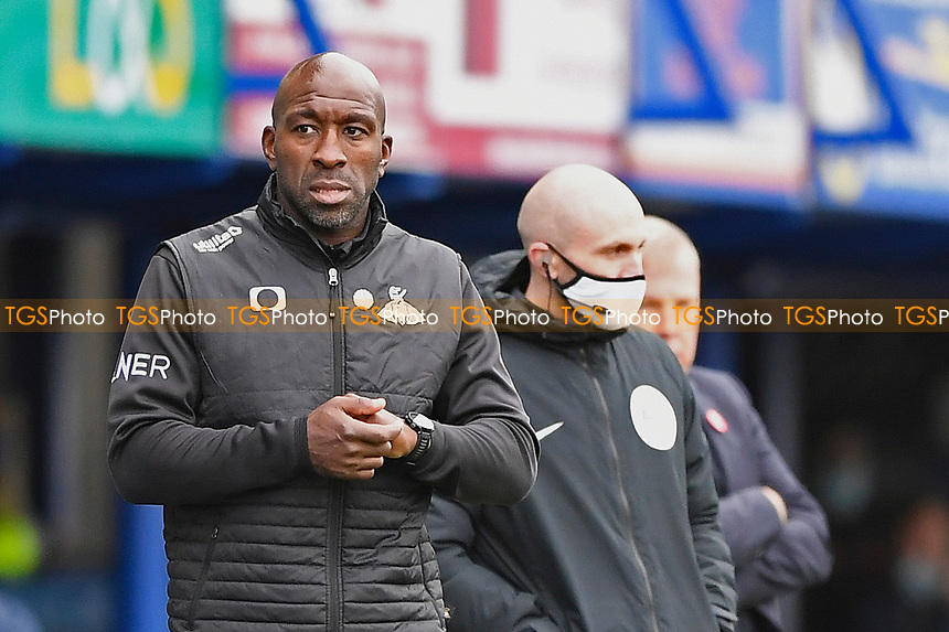 Doncaster Rovers ManagerDarren Moore during Portsmouth vs Doncaster Rovers, Sky Bet EFL League 1 Football at Fratton Park on 17th October 2020