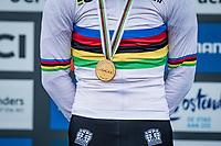 Pim Ronhaar (NED/Pauwels Sauzen-Bingoal) is the new U23 World Champion<br /> <br /> UCI 2021 Cyclocross World Championships - Ostend, Belgium<br /> <br /> U23 Men's Race<br /> <br /> ©kramon