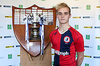 SCHOOLS CUP DRAW 2016 | Monday 16th November 2015<br /> <br /> Ballyclare High School captain Ryan McIlwaine - Ulster Schools Cup draw at Kingspan Stadium, Ravenhill Park, Belfast, Northern Ireland.<br /> <br /> Photo credit: John Dickson / DICKSONDIGITAL