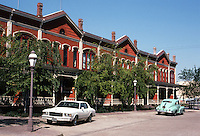 San Diego: Kimball Block (Brick Row), National City, NRHP '73.  (Photo '82)