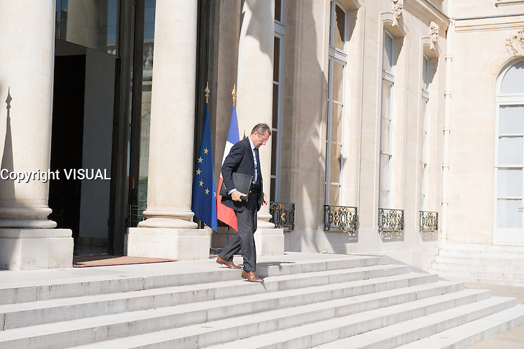 Bernard Bajolet -- Conseil restreint de sÈcurite et de defense ‡ l'Elysee suite a l'attentat de Nice perpetre le 14 juillet.