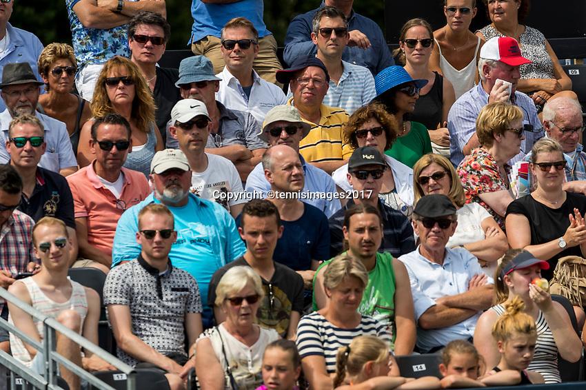 Den Bosch, Netherlands, 13 June, 2017, Tennis, Ricoh Open, spectators<br /> Photo: Henk Koster/tennisimages.com