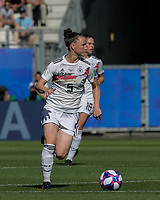 GRENOBLE, FRANCE - JUNE 22: Marina Hegering #5 of the German National Team brings the ball forward during a game between Panama and Guyana at Stade des Alpes on June 22, 2019 in Grenoble, France.