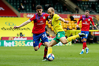 20th March 2021; Carrow Road, Norwich, Norfolk, England, English Football League Championship Football, Norwich versus Blackburn Rovers; Teemu Pukki of Norwich City has a shot on goal