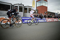 Alexander Kristoff (NOR/Katusha) is yet again the stage winner (and overall leader)<br /> <br /> 3 Days of De Panne 2015<br /> stage 2