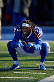 Buffalo Bills Lafayette Pitts (30) during pre-game warmups before an NFL football game against the New York Jets, Sunday, December 9, 2018, in Orchard Park, N.Y.  (Mike Janes Photography)