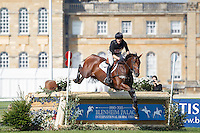 NZL-Tim Rusbridge (ONEFORTHENOTEBOOK) INTERIM-36TH: CCI3* CROSS COUNTRY: 2015 GBR-Blenheim Palace International Horse Trial (Saturday 19 September) CREDIT: Libby Law COPYRIGHT: LIBBY LAW PHOTOGRAPHY
