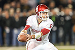 Oklahoma Sooners quarterback Trevor Knight (9) in action during the game between the Oklahoma Sooners and the Baylor Bears at the Floyd Casey Stadium in Waco, Texas. Baylor defeats OU 41 to 12.