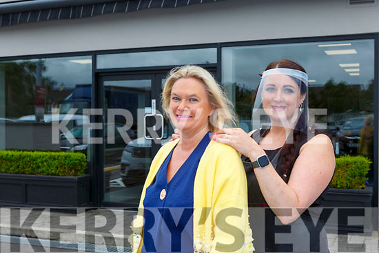 Virgina Hinchion was delighted to finally get her hair done by Samantha Leen in Ruby Tuesday's Hair Salon Killarney on Monday