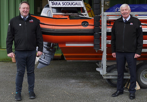 Jude Kilmartin (left) and Tony McCarth of Lough Ree RNLI