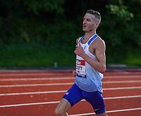 5th June 2021; Birmingham University Athletics Track, Birmingham, Midlands, England; European 10000 Metre Finals, British Olympic Trials 10000 Metre; Marc Scott on route to beating Mo Farah