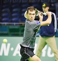 11-02-13, Tennis, Rotterdam, ABNAMROWTT, Victor Hanescu,