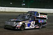#51: Logan Seavey, Kyle Busch Motorsports, Toyota Tundra Mobil 1 and #13: Myatt Snider, ThorSport Racing, Ford F-150 Liberty Tax