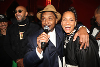 NEW YORK, NY- SEPTEMBER 12: Super Cat and Alicia Keys pictured at Swizz Beatz Surprise Birthday Party at Little Sister in New York City on September 12, 2021. Credit: Walik Goshorn/MediaPunch