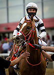 MAY 15, 2021:  France Go De Ina with Joel Rosario after the Preakness Stakes at Pimlico Racecourse in Baltimore, Maryland on May 15, 2021. EversEclipse Sportswire/CSM