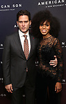 Steven Pasquale and Kerry Washington attend the Broadway Opening Night After Party for 'AMERICAN SON' at Brasserie 8 1/2 on November 4, 2018 in New York City.