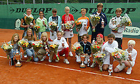 12-8-06,Den Haag, Tennis Nationale Jeugdkampioenschappen, alle winnaars 12/14 jaar.