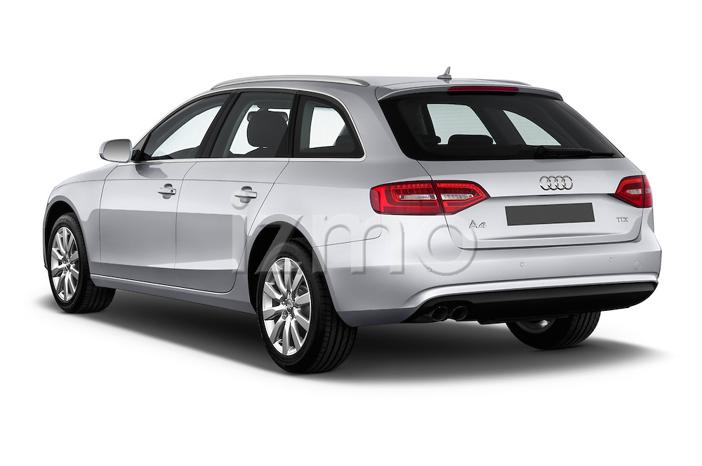 Rear three quarter view of a 2014 Audi A4 AMBITION LUXE 5 Door Wagon 2WD