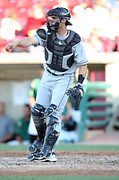 May 27, 2010: Cameron Garfield (7) of the Wisconsin Timber Rattlers at Elfstrom Stadium in Geneva, IL. The Timber Rattlers are the Midwest League Class A affiliate of the Milwaukee Brewers. Photo by: Chris Proctor/Four Seam Images