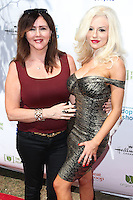 LOS ANGELES, CA, USA - SEPTEMBER 21: Krista Keller Stodden and Courtney Stodden arrive at The LA Feline Film Festival held at the Memorial Coliseum on September 21, 2014 in Los Angeles, California, United States. (Photo by Xavier Collin/Celebrity Monitor)