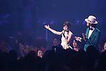 (L-R) Atsuko Maeda, Nobuaki KanekoRIZE), Jun 22, 2013 : MTV VMAJ (VIDEO MUSIC AWARDS JAPAN) 2013 at Makuhari Messe in Chiba, Japan. (Photo by AFLO)