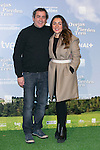 "Jorge Bosh and Candela Pena attends the ""Las Ovejas No Pierden El Tren"" Presentation at Palafox Cinema, Madrid,  Spain. January 27, 2015.(ALTERPHOTOS/)Carlos Dafonte)"