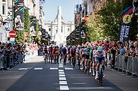 rolling down the Bondgenotenlaan<br /> <br /> Women Elite - Road Race (WC)<br /> from Antwerp to Leuven (158km)<br /> <br /> UCI Road World Championships - Flanders Belgium 2021<br /> <br /> ©kramon
