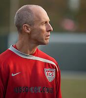 Bobby Bradley. U.S. Men's National Team training at RFK Stadium  Monday October 12, 2009  in Washington, D.C.