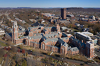 Franklin College & Murray College, at Yale Univ., New Haven, CT aerial. ( R. A. M. Stern = architect)