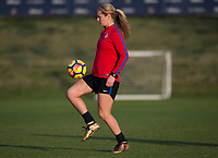 Carson, CA - January 17, 2018: The USWNT trains during their annual January camp in California.