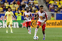 Harrison, NJ - Wednesday July 06, 2016: Tyler Adams during a friendly match between the New York Red Bulls and Club America at Red Bull Arena.