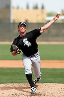Charlie Leesman -  Chicago White Sox - 2009 spring training.Photo by:  Bill Mitchell/Four Seam Images