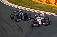 5th September 2021: Circuit Zandvoort, Zandvoort, Netherlands;  9 Nikita Mazepin RUS, Haas F1 Team, 5 Sebastian Vettel GER, Aston Martin Cognizant F1 Team, F1 Grand Prix of the Netherlands at Circuit Zandvoort