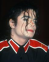 Michael Jackson<br /> 1993<br /> Photo By Michael Ferguson/CelebrityArchaeology.com