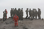 ERCIS, TURKEY: Rescue workers and soldiers search for survivors...On October 23, 2011, a 7.2 magnitude earthquake hit eastern Turkey killing over 250 people and wounding over a thousand...Photo by Marwa Al Zahawe/Metrography