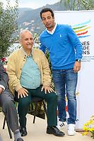 Roland MILAZZO et Ludovic GIULY lors de l'inauguration du Salon du Bateau - Les Nouvelles Vagues du Nautisme - au Port de la Napoule à Mandelieu, Sud de la France, vendredi 14 avril 2017. # INAUGURATION DU SALON DU BATEAU A MANDELIEU