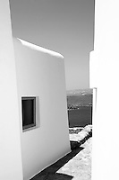 Angelos Tassis is one half of the successful fashion-designing duo of Harris and Angelos (who recently expanded their repertoire to include interior design for mostly island homes).  Tassis' own villa in Mykonos is minimal in design and adorned with modern and contemporary art pieces.