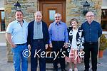 50th Birthday: Danny Flavin, centre, Bunagara, Listowel celebrating his 50th birthday with his family on Saturday evening last. L- R: Michael, Jr, Michael, Sn, Danny, Noreen & Pat Flavin.