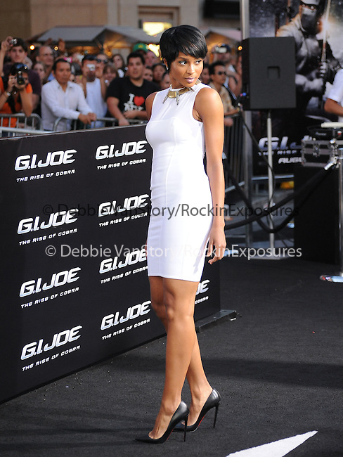 Ciara at The Paramount Pictures' G.I. JOE: THE RISE OF COBRA Los Angeles Special Screening held at The Grauman's Chinese Theatre in Hollywood, California on August 06,2009                                                                   Copyright 2009 Debbie VanStory / RockinExposures