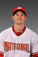 14 March 2008: ..Portrait of Ryan Harrison, Washington Nationals Minor League player at Spring Training Camp 2008..Mandatory Photo Credit: Ed Wolfstein Photo