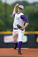 Starting pitcher Johnnie Lowe #31 of the Winston-Salem Dash in action versus the Wilmington Blue Rocks at Wake Forest Baseball Stadium June 14, 2009 in Winston-Salem, North Carolina. (Photo by Brian Westerholt / Four Seam Images)