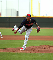 Jefry Rodriguez- Cleveland Indians 2019 spring training (Bill Mitchell)