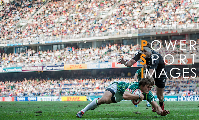 Day 3 of the 2012 Cathay Pacific / HSBC Hong Kong Sevens at the Hong Kong Stadium in Hong Kong, China on 25th March 2012. Photo © Felix Ordonez / The Power of Sport Images
