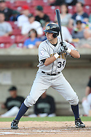 September 10, 2009: Shawn Griffin of the Burlington Bees. The Bees are the Midwest League affiliate for the Kansas City Royals. Photo by: Chris Proctor/Four Seam Images