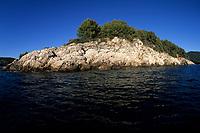 island, in front of Vela Luka, Korcula island, Croatia, Adriatic Sea, Mediterranean