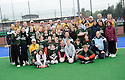 SCHOOL CHILDREN WHO TOOK PART IN THE TOUCH WORLD CUP YOUTH FESTIVAL WITH PLAYERS FROM THE SCOTLAND AND AUSTRALIAN TEAMS.