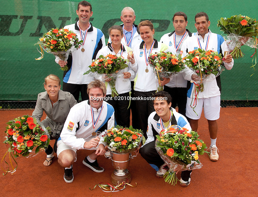06-06-10, Tennis, Den Haag, Playoffs Eredivisie, Team Leimonias