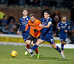 08.11.2019 Dundee v Dundee Utd: Graham Dorrans fouls Paul McMullan